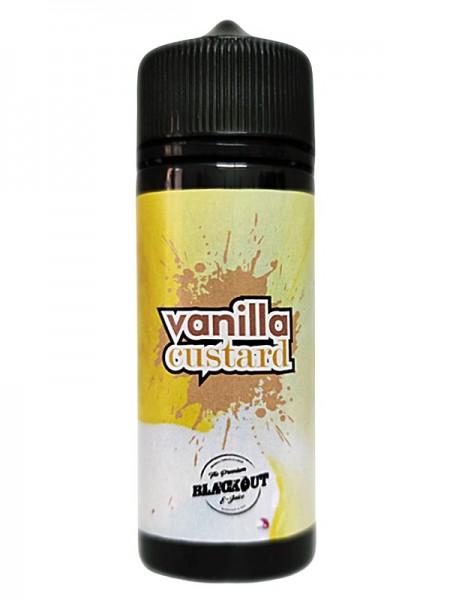 BLACKOUT Vanilla Custard 120ml